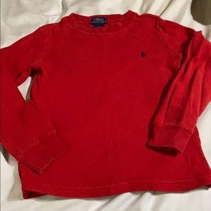 Toddler Pullover Waffle Shirt. EUC